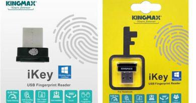 """""""คิงแมกซ์ ดิจิตอล อิงค์"""" ขอแนะนำ """"iKey"""" เครื่องอ่านลายนิ้วมือขนาดพกพา ผู้ช่วยเก็บข้อมูลของคุณให้ปลอดภัย"""