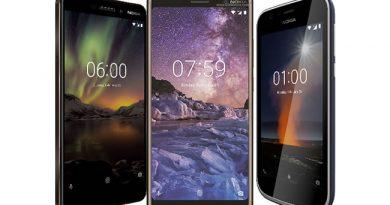 เอชเอ็มดี โกลบอล เปิดตัวสมาร์ทโฟนโนเกีย 3 รุ่นใหม่ล่าสุดในไทย Nokia 7 plus, New Nokia 6 และ Nokia 1