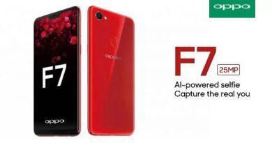 OPPO F7 สมาร์ทโฟนจัดเต็มกล้องหน้า 25ล้านพร้อม AI ให้สวยเนียนใสได้ทันที