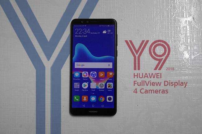 รีวิว Huawei Y9 2018