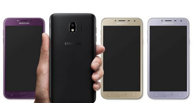 Samsung Galaxy J4 สมาร์ทโฟนรุ่นเล็กราคาประหยัดหน้าจอ5.5