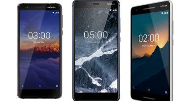 Nokia เปิดตัวสมาร์ทโฟนราคาประหยัด 3 รุ่นรวด Nokia 5.1, Nokia 3.1 และ Nokia 2.1