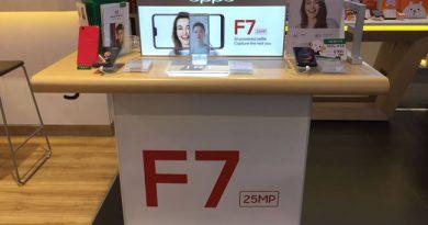 สิ้นสุดการรอคอยกับ OPPO F7 ยืนยันมาไทยแน่!  พร้อม ดีไซน์สวยหรู กล้องหน้าเซลฟี่ 25 MP