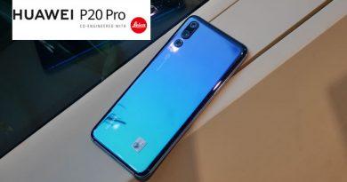 พรีวิว Huawei P20 Pro ตัวเครื่องและภาพถ่าย