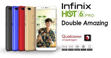 Infinix เตรียมเปิดตัว Infinix Hot 6 Pro มือถือกล้องคู่ จอใหญ่ 6 นิ้ว ราคา 4,190 บาท