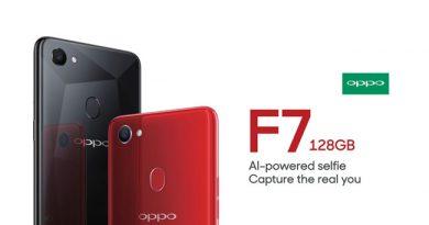 OPPO F7 128 GB พร้อมขายแล้วพฤษภาคมนี้ ในราคา 14,990 จัดเต็ม RAM 6 GB ROM 128 GB