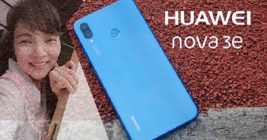 รีวิว Huawei nova 3e