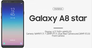 Samsung Galaxy A8 star มือถือกล้องคู่ระดับรุ่นท็อปในราคาที่ถูกลง