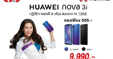 CSC จัดโปรโมชั่นสุดว๊าว รับจอง Huawei nova 3i