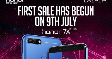 Honor 7AเปิดขายในLazadaเพียง 3,990 บาท