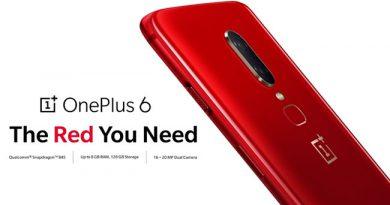OnePlus ปล่อย OnePlus6 Red สีแดงสด หรูหรา มีสไตล์ ให้เป็นเจ้าของกันได้แล้ววันนี้