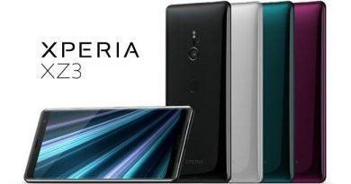 เปิดตัว Sony Xperia XZ3 อารยธรรมตัวท็อปรุ่นล่าสุดจาก Sony
