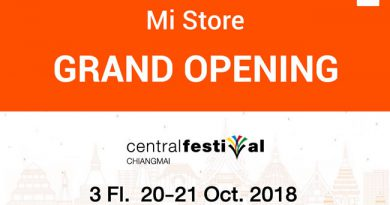 Mi Store เปิดแล้ววันนี้บนชั้น 3 เซ็นทรัลเฟสติวัล เชียงใหม่