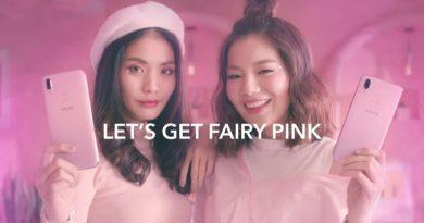 Vivo V11i เฉดสีใหม่ Fairy Pink พร้อมขายแล้ววันนี้
