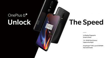 OnePlus 6T เตรียมวางจำหน่ายอย่างเป็นทางการในประเทศไทยที่ AIS, JD Central และ Power Buy