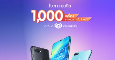Realme 2 Pro สมาร์ทโฟนน้องใหม่ ยอดขายถล่มทลายขึ้นเป็นอันดับ 1 ใน LAZADA