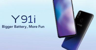 เปิดตัว Vivo Y91i สมาร์ทโฟนจอใหญ่ แบตอึด ในงบ 5,000 บาท