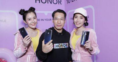 HONOR 10 Lite สมาร์ทโฟนกล้องหน้า 24 ล้านพิกเซล เอาใจสายเซลฟี่ในราคาย่อมเยาเพียง 6,490 บาท