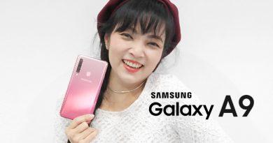 รีวิว Samsung Galaxy A9 2018
