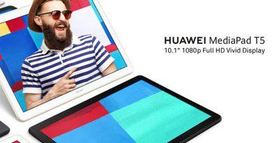 หัวเว่ยเตรียมเปิดตัว HUAWEI MediaPad T5 10 แท็บเล็ตราคาสุดคุ้ม จอ Full HD 10.1 นิ้ว พร้อมวางจำหน่าย 7 ก.พ.นี้