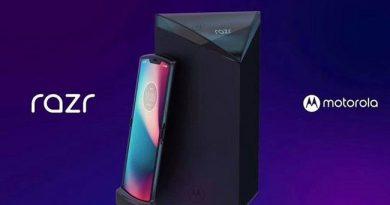 หลุดภาพ Motorola Razr 2019 สมาร์ทโฟนหน้าจอพับได้ดีไซน์ย้อนยุค